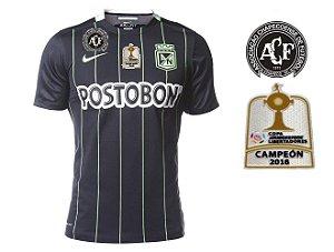 Camisa oficial Nike Atlético Nacional de Medellin 2016 II jogador ESPECIAL