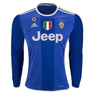 Camisa oficial Adidas Juventus 2016 2017 II jogador manga comprida