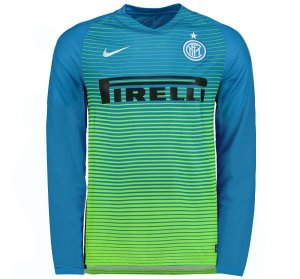 Camisa oficial Nike Inter de Milão 2016 2017 III jogador manga comprida