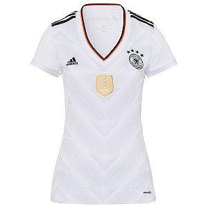 Camisa Feminina oficial Adidas seleção da Alemanha 2017 I