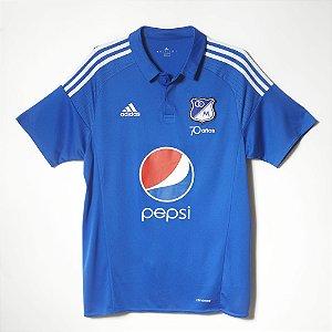 Camisa oficial Adidas Millionarios 2016 I jogador