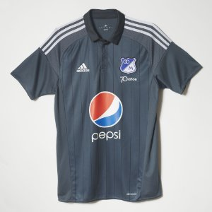 Camisa oficial Adidas Millionarios 2016 II jogador