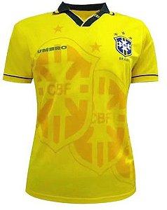 Camisa Retro Umbro Seleção brasileira Copa 1994