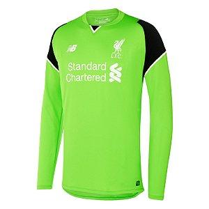 Camisa oficial New Balance Liverpool 2016 2017 I Goleiro