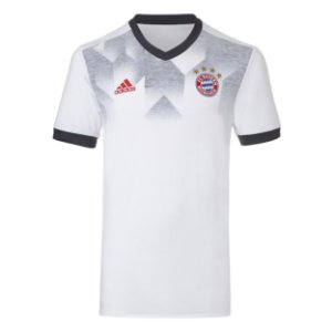 Camisa oficial treino Adidas Bayern de Munique 2016 2017 Branca