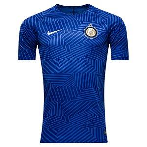 Camisa oficial treino Nike Inter de Milão 2016 2017 Azul