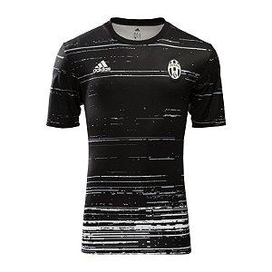 Camisa oficial treino Adidas Juventus 2016 2017 preta