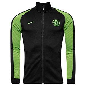 Jaqueta oficial Nike Inter de Milão 2016 2017 verde e preto