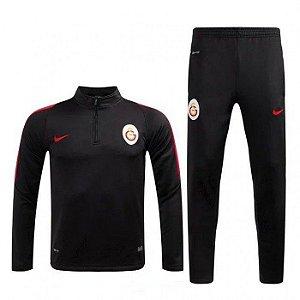 Kit treinamento oficial Nike Galatasaray 2016 2017 Preto