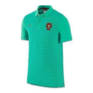 Camisa Polo oficial Nike Seleção de Portugal Euro 2016  Verde