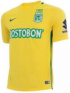 Camisa oficial Nike Atlético Nacional de Medellin 2017 II jogador
