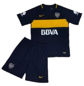 Kit infantil oficial Nike Boca Juniors 2016 2017 I jogador