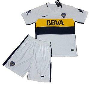 Kit infantil oficial Nike Boca Juniors 2016 2017 II jogador