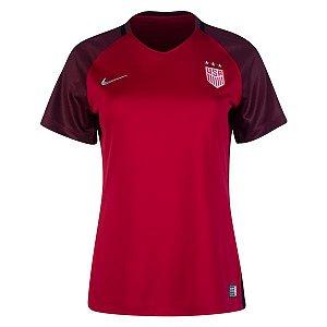 Camisa Feminina oficial Nike seleção dos Estados Unidos 2017 II