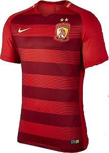 Camisa oficial Nike Guangzhou Evergrande 2017  I jogador