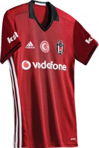 Camisa oficial Adidas Besiktas 2016 2017 III jogador