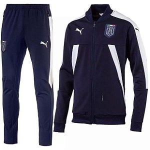 kit oficial treinamento Puma seleção da Italia 2017 Azul