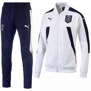 kit oficial treinamento Puma seleção da Italia 2017 branco
