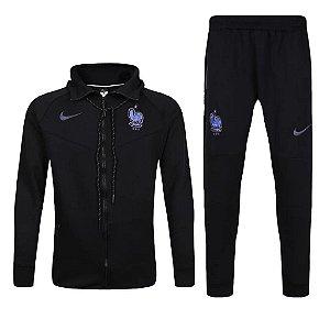 Kit treinamento oficial Nike seleção da França 2017 preto