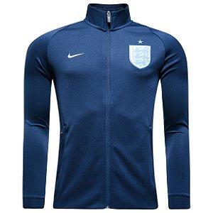 Jaqueta  oficial Nike seleção da Inglaterra 2017 Azul