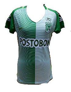 Camisa feminina oficial Nike Atletico Nacional de Medellin 2017 I