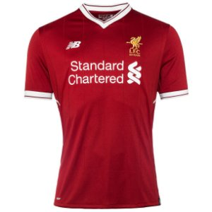 Camisa oficial New Balance Liverpool 2017 2018 I jogador