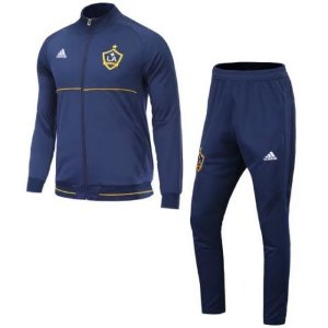 Kit treinamento oficial Adidas Los Angeles Galaxy 2017 Azul