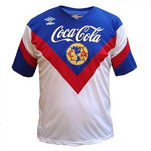 Camisa Retro Umbro America do Mexico 1993 1994 II jogador
