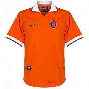 Camisa retro Nike seleção da Holanda 1997 1998 I jogador