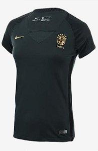 Camisa Feminina oficial Nike seleção do Brasil 2017 III