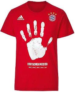 Camisa comemorativa oficial Adidas Bayern de Munique Penta alemão