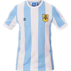 Camisa retro Adidas seleção da Argentina 1978 I jogador