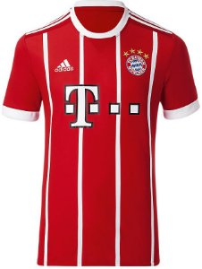 Camisa oficial Adidas Bayern de Munique 2017 2018 I jogador