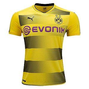 Camisa oficial Puma Borussia Dortmund 2017 2018 I jogador