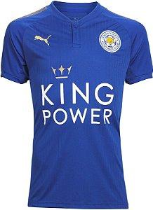 Camisa oficial Puma Leicester City 2017 2018 I jogador