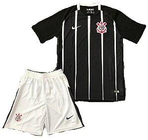 Kit infantil oficial Nike Corinthians 2017 II jogador