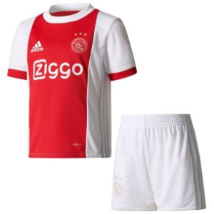 Kit infantil oficial Adidas Ajax 2017 2018 I jogador