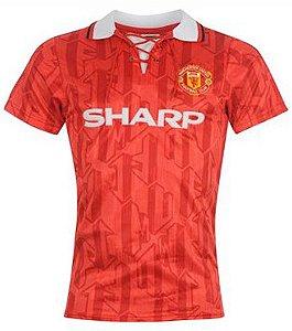 Camisa retro umbro Manchester United 1993 1994 I jogador