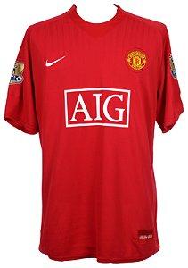 Camisa Nike Retro Manchester United 2008 2009 I jogador