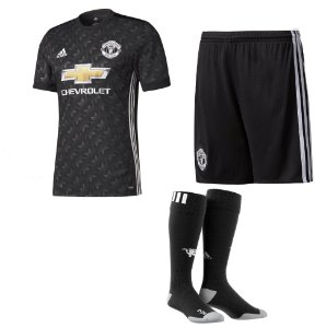 Kit adulto oficial adidas Manchester United 2017 2018 II jogador