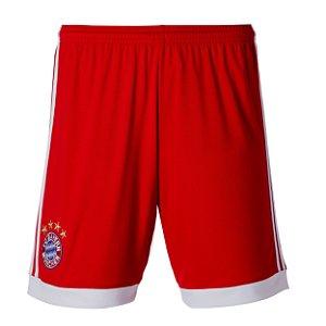 Calção oficial Adidas Bayern de Munique 2017 2018 I jogador