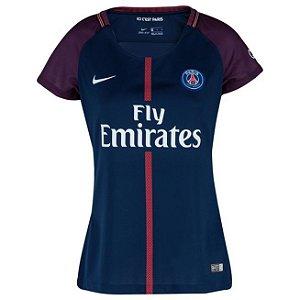 Camisa feminina oficial Nike PSG 2017 2018 I