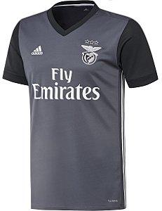 Camisa oficial Adidas Benfica 2017 2018 II jogador