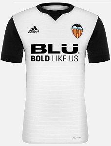 Camisa oficial Adidas Valencia 2017 2018 I jogador