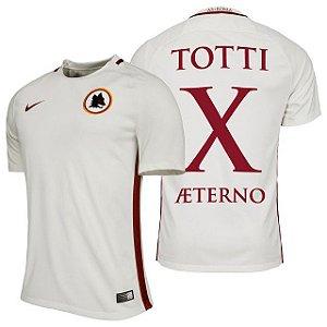 Camisa oficial Nike Roma 2016 2017 II jogador Totti x Aeterno