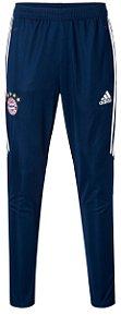 Calça de treino oficial Adidas Bayern de Munique 2017 2018 Azul