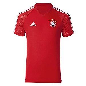 Camisa de Treino oficial Adidas Bayern de Munique 2017 2018 vermelha