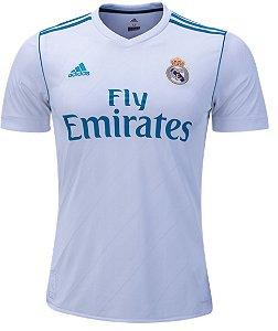 Camisa oficial Adidas Real Madrid 2017 2018 I jogador