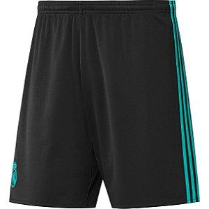 Calção oficial Adidas Real Madrid  2017 2018 II jogador