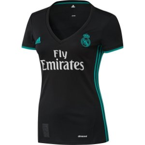 Camisa Feminina oficial Adidas Real Madrid 2017 2018 II